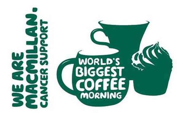Macmillan coffee morning at Walsall showroom Fri 21st Sept 2018