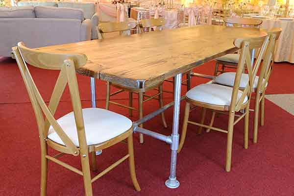*NEW* 8ft scaffold dining table