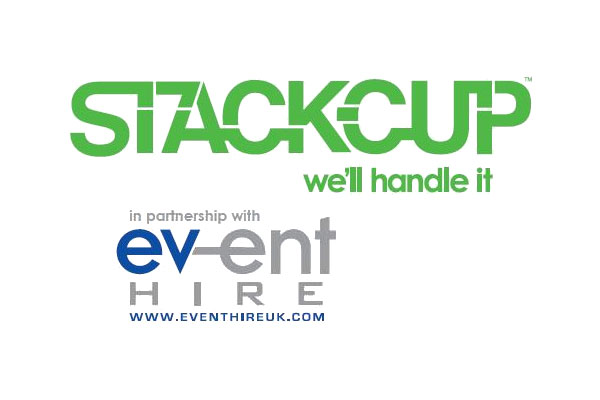 Event Hire UK & STACK-CUP™ partner together in the fight against single use plastic