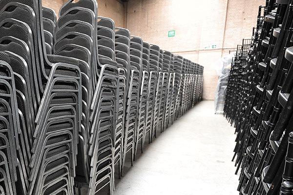 Chair hire London & across the UK