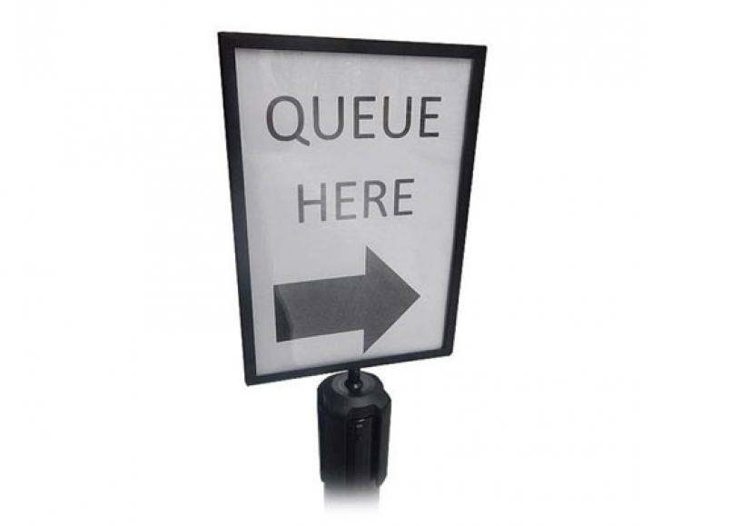 *NEW* Tensabarrier A4 sign holders
