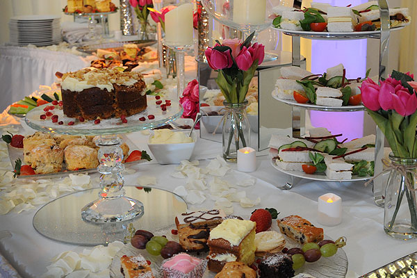 Afternoon tea crockery hire & equipment hire