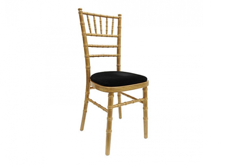 *NEW* Antique goldwash Chiavari chair hire