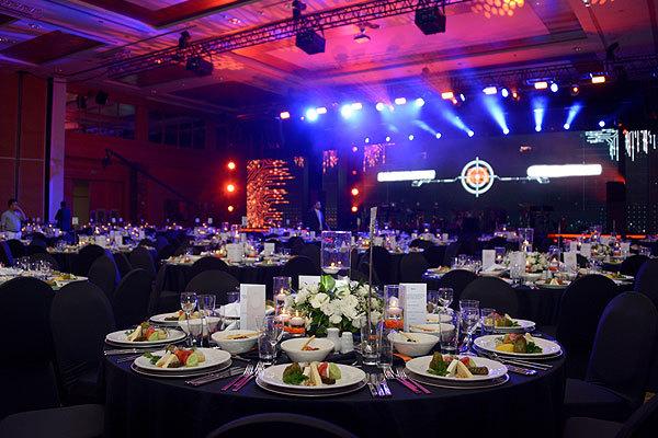 Temporary furniture hire for prestigious awards ceremonies