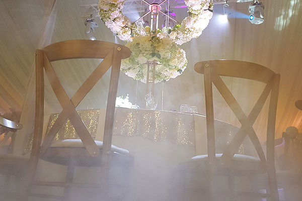 Best wedding chair hire company