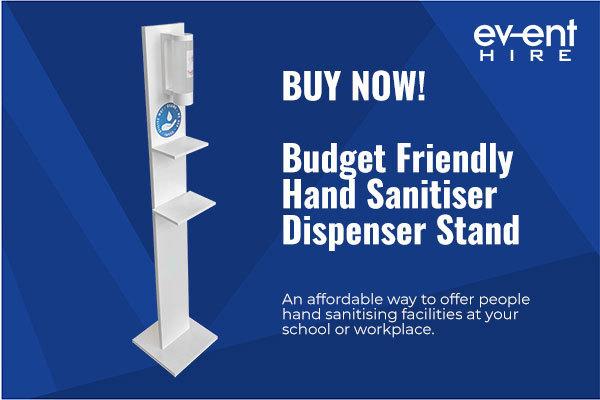 *NEW* BUY NOW - Budget friendly hand sanitiser dispenser stations