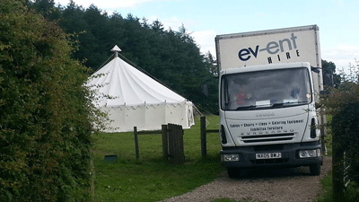 Catering equipment hire for weddings