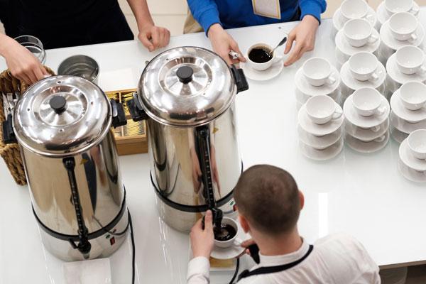Coffee maker hire