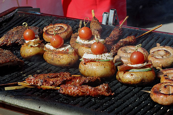 Commercial BBQ hire