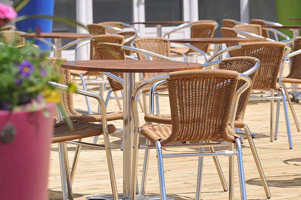 Create fantastic outdoor areas for event hospitality