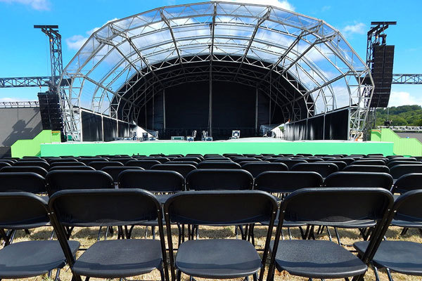 Which events are best suited to folding chair hire?