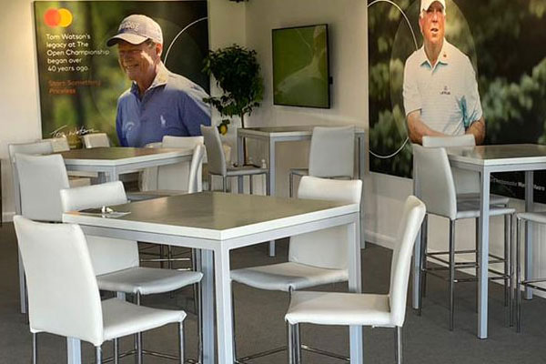 What furniture hire works best for large sports events?