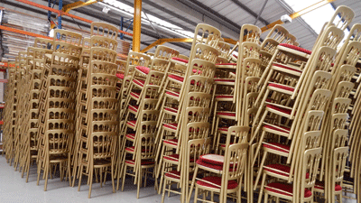 Huge chair hire range