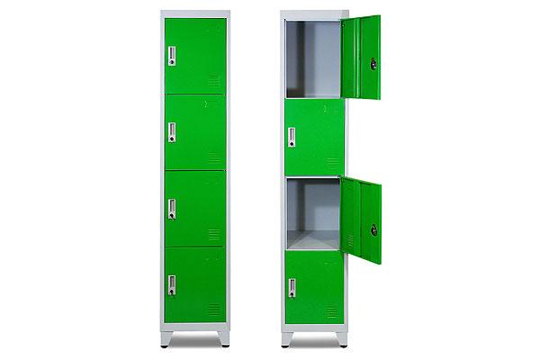 *NEW* Green 4 door locker hire