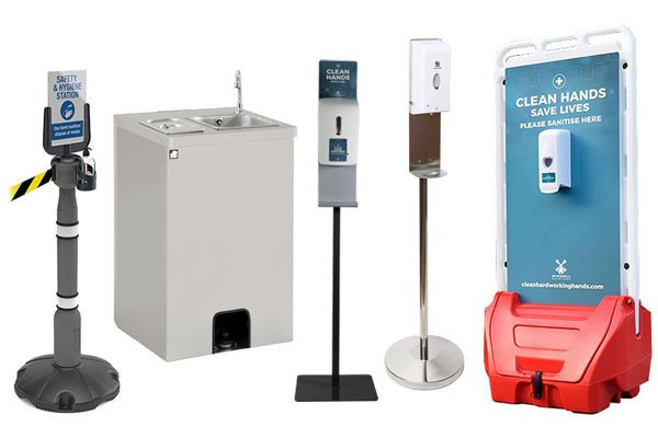Hand sanitiser dispenser hire for events & venues