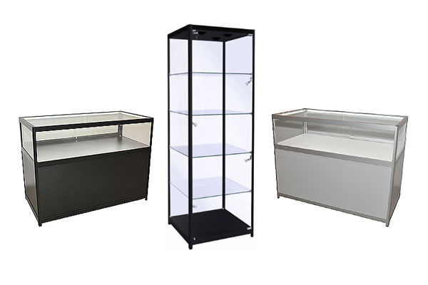 *NEW* Additions to glass showcases range