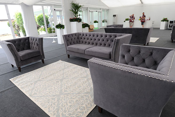 Make that great first impression with luxury lounge furniture hire