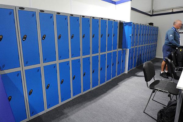 *NEW* Blue & grey 2 door lockers