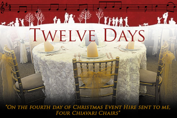 On the fourth day of Christmas...