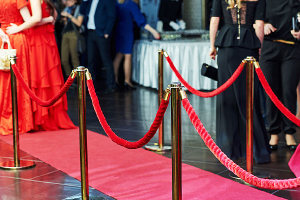 Roll out the red carpet for VIP events!