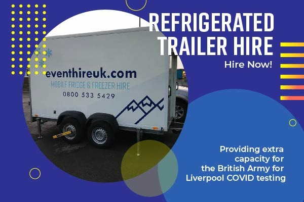 Supplying refrigerated trailers to the Army as part of COVID testing