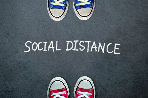 Rent equipment for social distancing