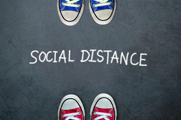 Rent equipment for social distancing management