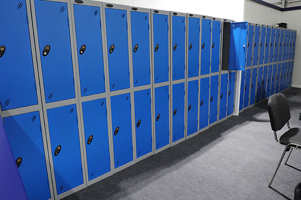 Event locker hire for large events