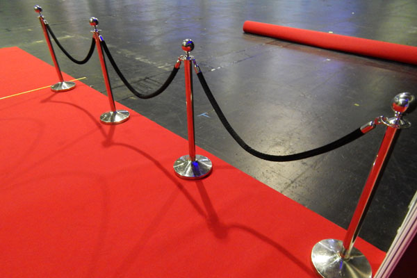 VIP event barrier hire