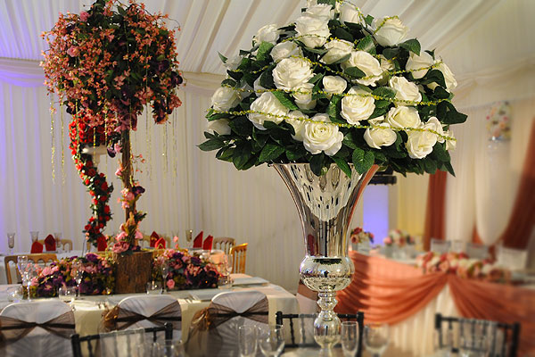 *NEW* Wedding table centrepiece hire