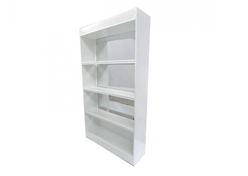 *NEW* White mirror back bar units