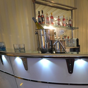 Back Bars & Bar Units Hire
