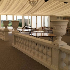 Balustrade & Urn Hire