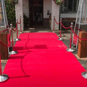 Barrier & Staging Hire