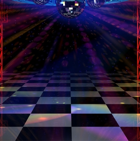 Black White Dance Floor Hire