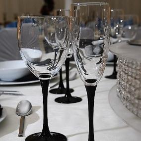 Domino Stemware Glass Hire