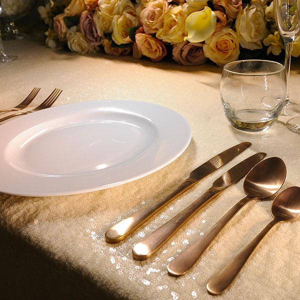 Enamor Copper Cutlery Hire
