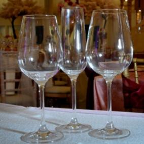 Invitation Stemware Glass Hire