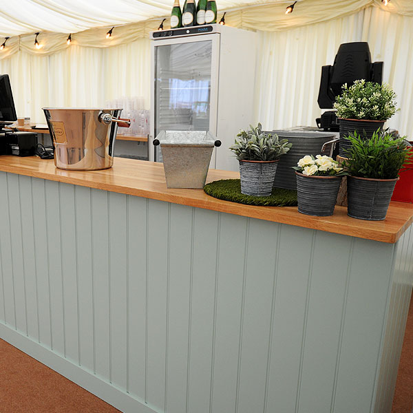 Oak Top Bar Hire