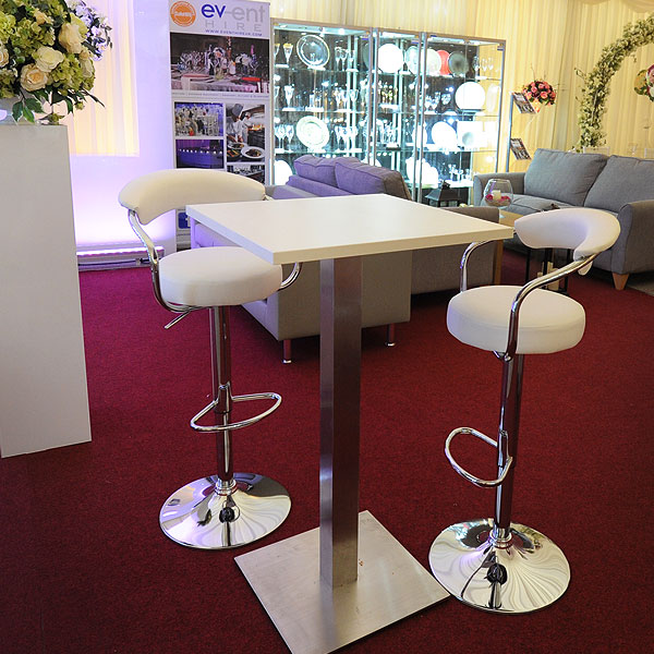 Pizza Poseur Table Hire