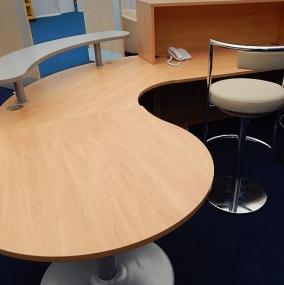 Reception Units & Desks Hire