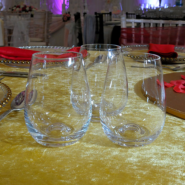 Stemless Wine Glass Hire