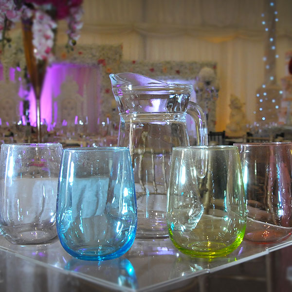 Water Jugs & Glass Hire