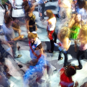 White Dance Floor Hire