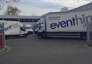 Event Hire UK London Sales & Distribution Centre