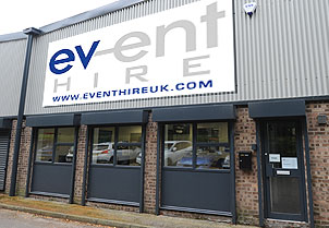 Event Hire UK NORTH WEST Sales & Distribution Centre