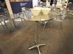 Jem Round Poseur Table Hire