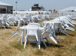 Plastic Garden Furniture Hire