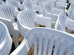 Plastic Garden Furniture Hire