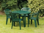 Resin Patio & Bistro Chair Hire